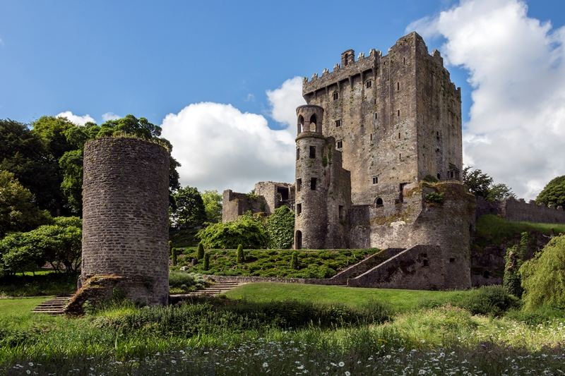 9 day motorcycle tour of Ireland. Blarney Castle. RoadTrip Motorcycle Tours. Woking, England. +44 (0)1483 662 135