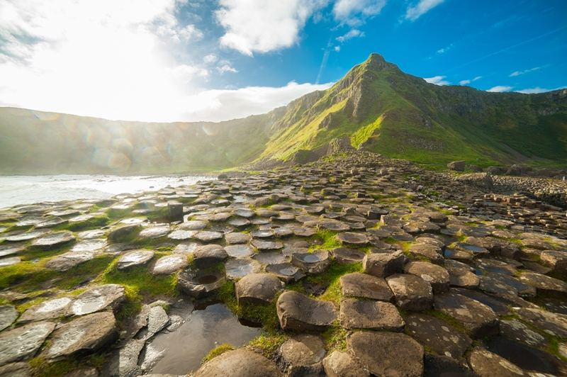 9 day motorcycle tour of Ireland. Giants Causeway. RoadTrip Motorcycle Tours. Woking, England. +44 (0)1483 662 135