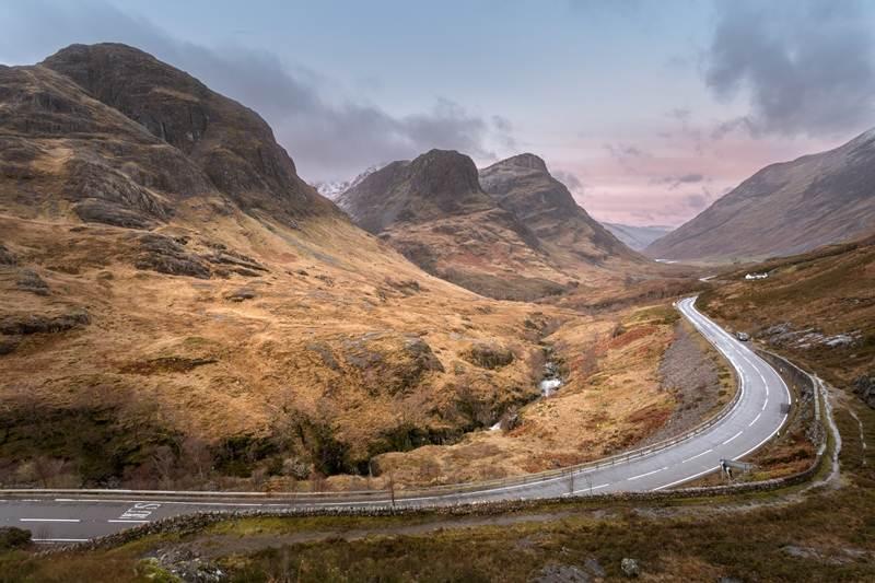 RoadTrip Motorcycle Tours. 14 day tour of teh UK . Visit Glencoe. +44 (0)1483 662 135