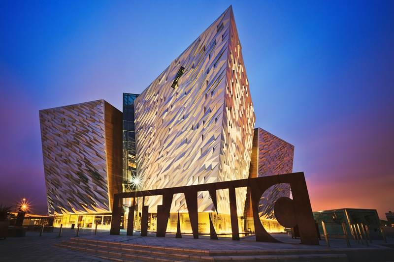 9 day motorcycle tour of Ireland. Titanic Musuem. RoadTrip Motorcycle Tours. Woking, England. +44 (0)1483 662 135