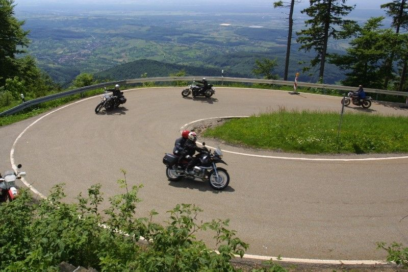 Am Hochblauen RoadTrip Motorcycle Tours - Black Forrest Tour. +44 (0)1483 662 135