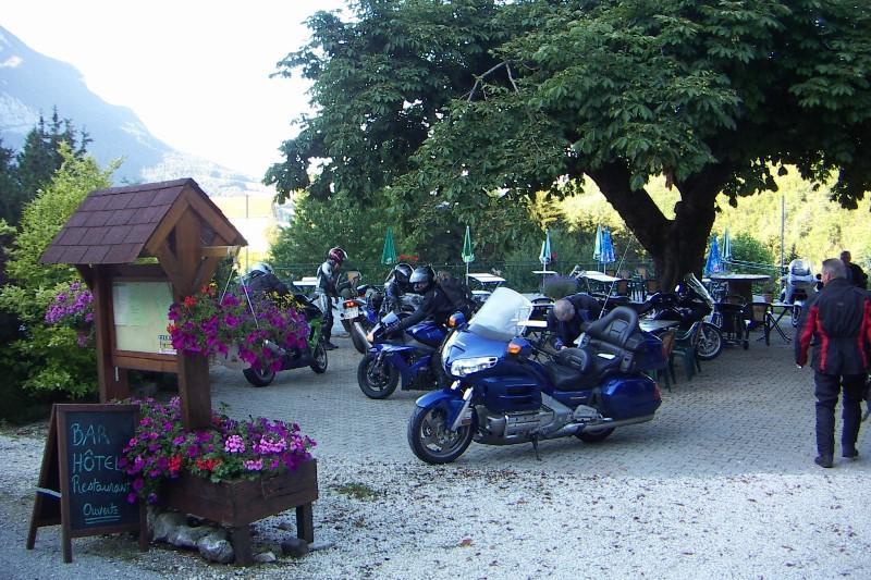 Bikes in the Alps.