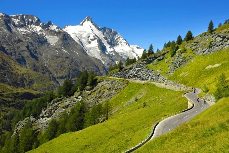 GROSSLGOCKNER. Motorcycle Tour of Austria with RoadTrip. +44 (0)1483 662 135