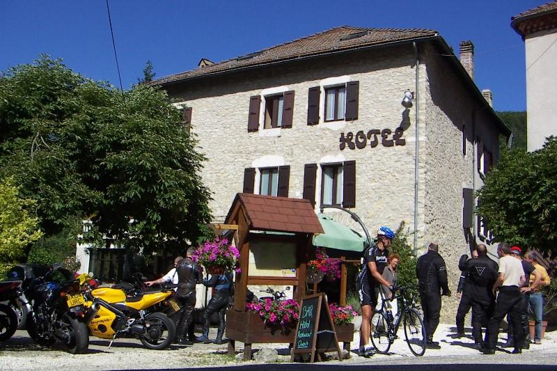 Hotel in the Alps. 9 day motorcycle tour of the French Alps. Roadtrip motorcycle tours. Woking, UK +44 (0)1483 662 135