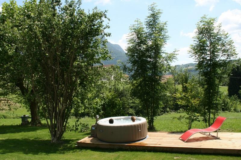 Outside Jacuzzi- Alps tour