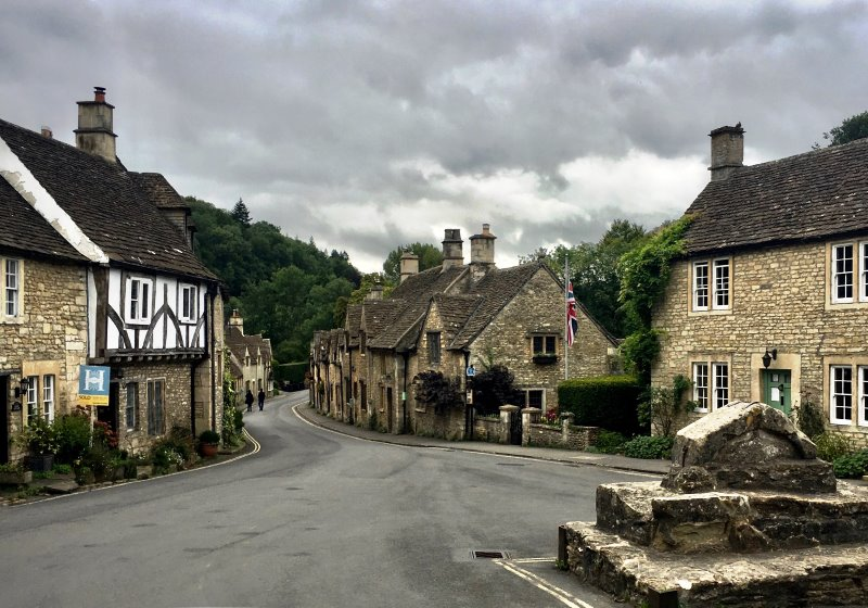 Castle Combe village - RoadTrip motorcycle tours. RoadTrip Motorcycles West country and Wales motorcycle tour