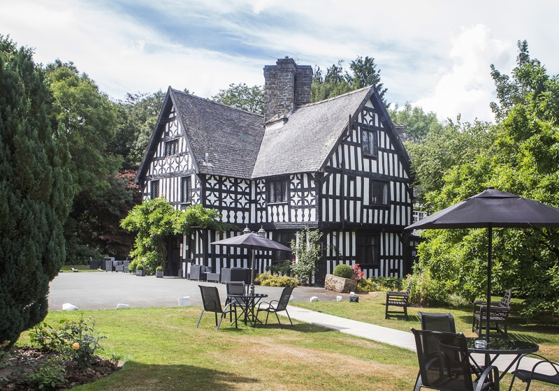 An hotel on a West country and Wales motorcycle tour