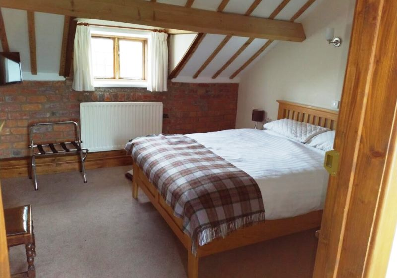 Cosy Inn double hotel room. RoadTrip Motorcycle Tours. RoadTrip Motorcycles West country and Wales motorcycle tour