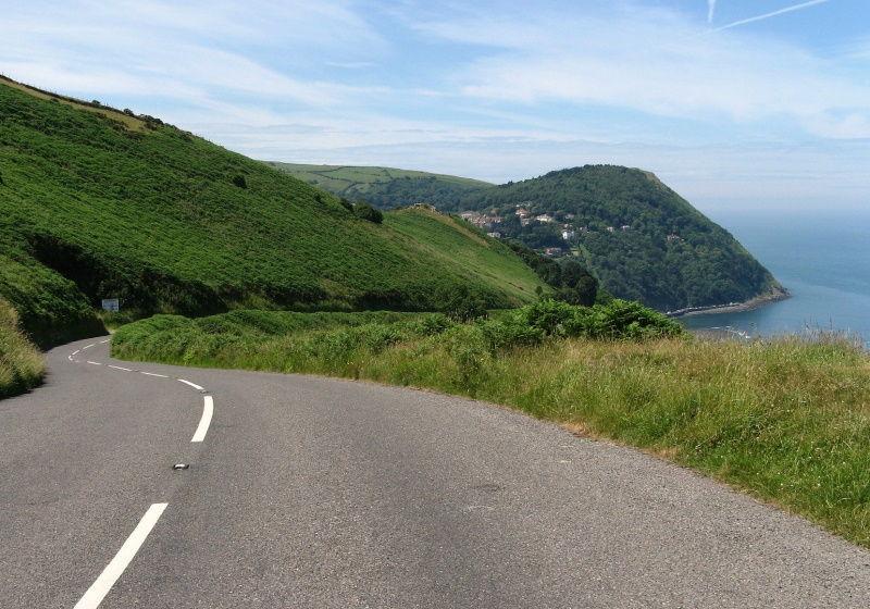 RoadTrip motorcycle tour - Devon coastal road
