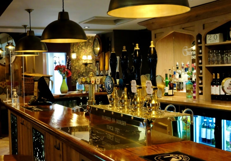RoadTrip Motorcycle Tour - Bar in a west country pub