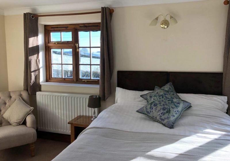 Wales inn comfortable bedroom