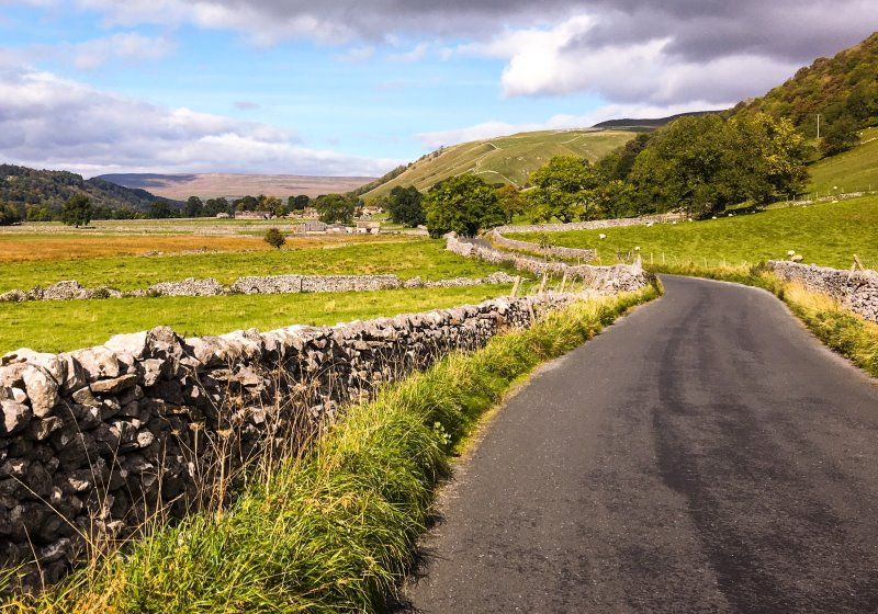 Yorkshire Dales lane by Gary Butterfield