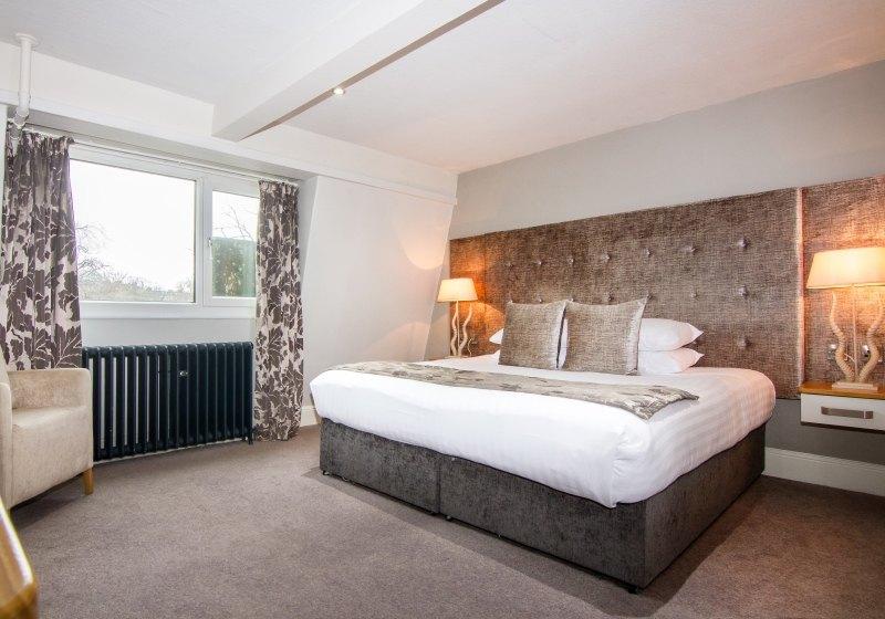 Yorkshire hotel bedroom