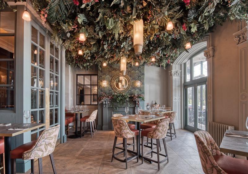 Yorkshire hotel garden room restaurant