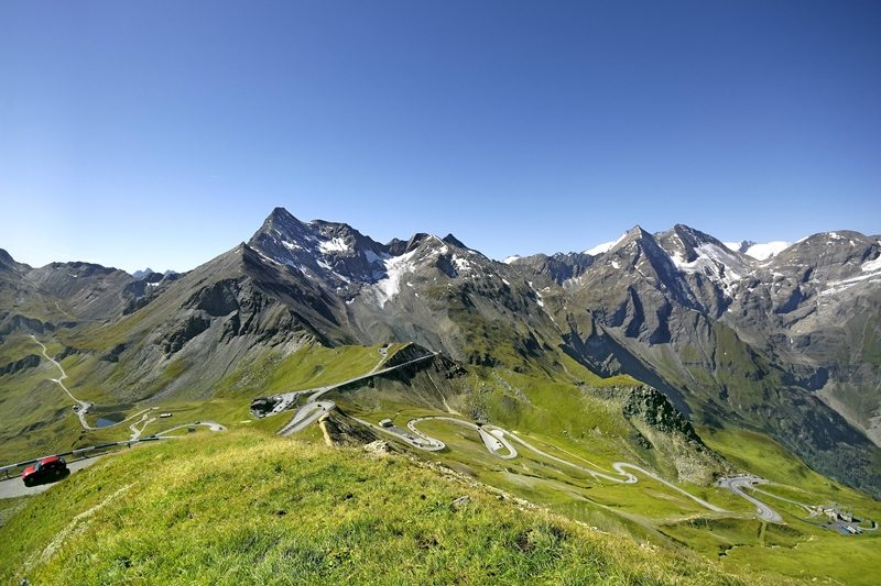 Grossglockner. Motorcycle tour of Austria with RoadTrip.