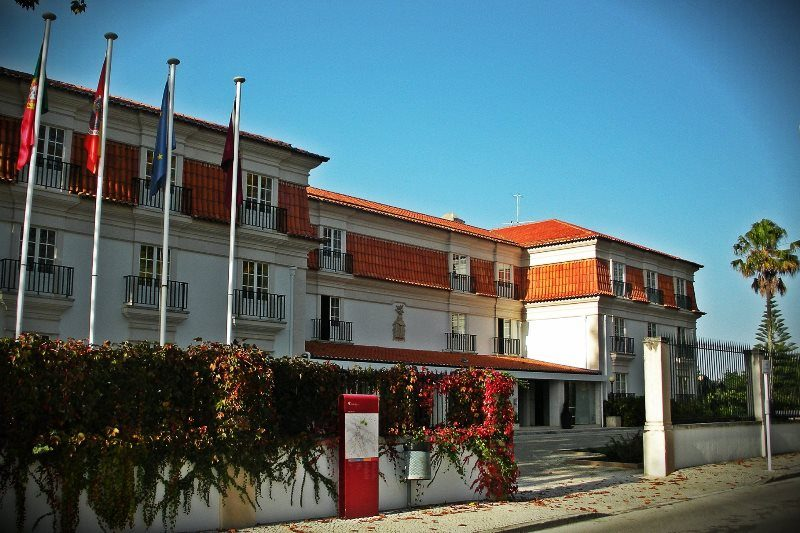 Hotel Facade. Spain and Portugal Motorcycle Tour. RoadTrip