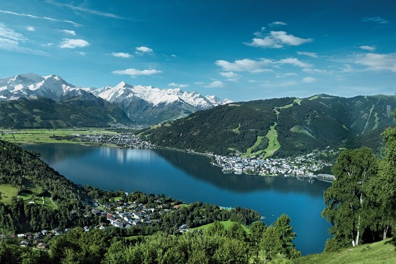 Zell am See Kaprun. Motorcycle tour of Austria with RoadTrip