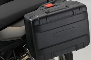 BMW F700 GS luggage for hire from Roadtrip. Woking, Surrey, UK +44 (0)1483 662 135