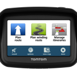 Tom Tom Rider Sat Nav available to hire from RoadTrip Motorcycle Rental. Woking, Surrey, UK +44 (0)1483 662 135