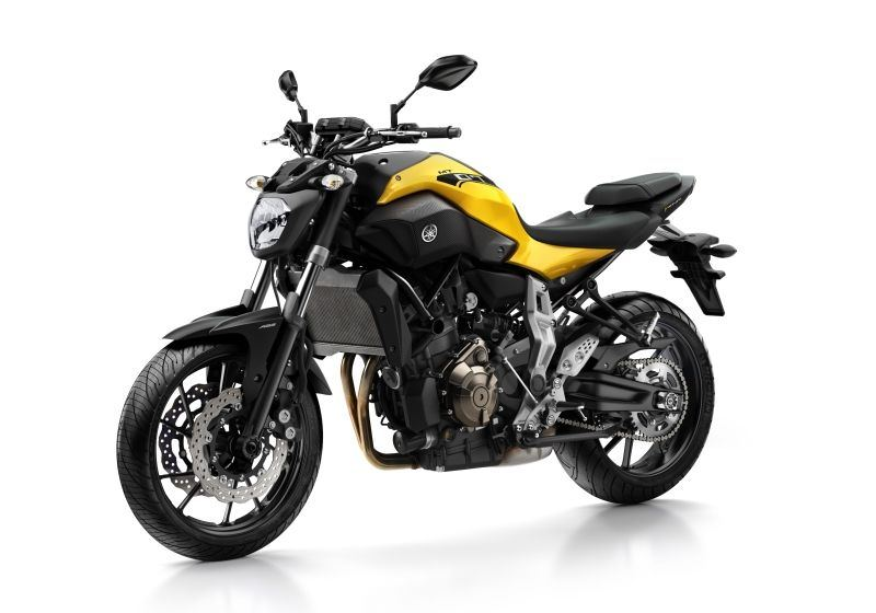 Yamaha MT-07 motorcycle for hire in London. Hire from RoadTrip. Woking, Surrey, UK. +44 (0)1483 662 135