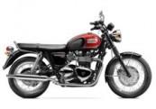 Triumph Bonneville T100 for hire from Roadtrip. Woking, Surrey, UK +44 (0)1483 662 135