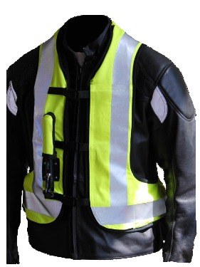 Helite Airbag safety clothing for hire from RoadTrip, Woking, Surrey, UK. +44 (0)1483 662 135