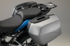 BMW R1200 RS Sport SE panniers for hire from RoadTrip Motorcycle Rental, Woking, Surrey, UK. +44 (0)1483 662 135