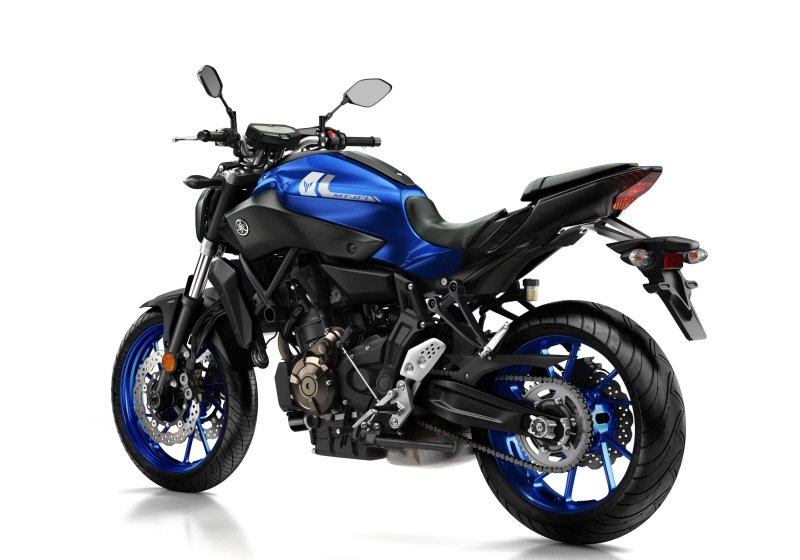 yamaha mt 07 for hire from roadtrip