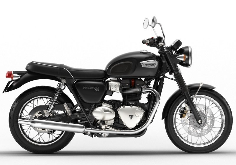 Triumph Bonneville T100 for hire. Woking, Surrey, UK +44 (0)1483 662 135