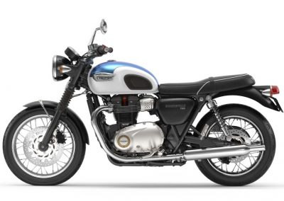 Triumph Bonneville T100 to rent from RoadTrip in Woking, Surrey, UK. +44 (0)1483 662 135