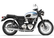 Triumph Bonneville T100 for hire from Roadtrip. Woking, Surrey, UK +44 (0)1483 662 135