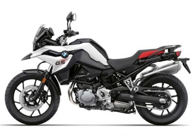 BMW F750 GS low suspension for hire from RoadTrip motorcycles. Woking, England. +44 (0)1483 662 135